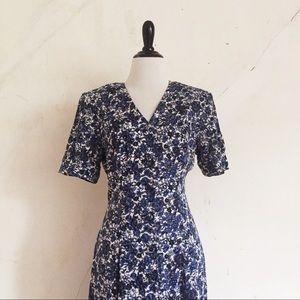 Vintage 90's Floral Maxi Dress